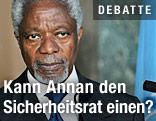 Ex-UNO-Chef und Syrien-Beauftragter Annan