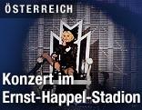 Madonna bei Konzert auf Wiener Donauinsel 2008