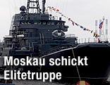 Russisches Kriegsschiff