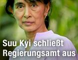 Friedensnobelpreisträgerin und NLD-Parteichefin Aung San Suu Kyi