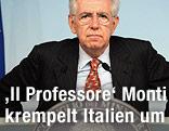 Italiens Premier Mario Monti