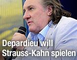 Der französische Schauspieler Gerard Depardieu