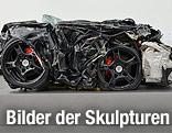 Kunstwerk der Car Culture Ausstellung in Linz