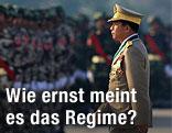 Burmas Generalstabschef Min Aung Hlaing