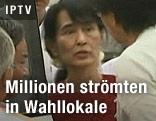 Burmas Oppositionsführerin Aung San Suu Kyi