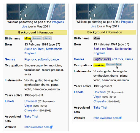 Suchergebnisse auf der Wikipediaseite von Maurizio Atzori