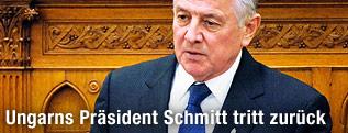 Ungarns Präsident Pal Schmitt