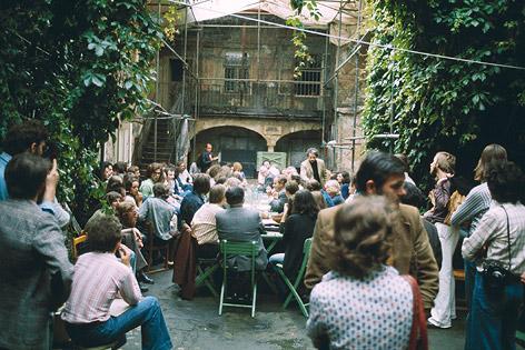 Das besetzte Amerlinghaus am Spittelberg (1975)