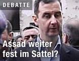 Syriens Präsident Assad