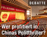 Plenarsitzung des Volkskongress in Peking