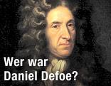 Porträt Daniel Defoes im National Maritime Museum, London