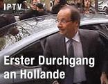 Präsidentschaftskandidat Francois Hollande
