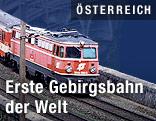 Die Semmeringbahn an der Ghega-Bahn-Strecke