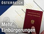 Österreichischer Staatsbürgerschaftsnachweis und Reisepass