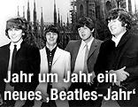 Gruppenaufnahme der Beatles