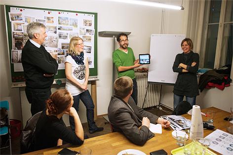 Gruppenbild der Baugruppe Seestern Aspern