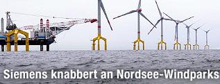 Winkpark in der Nordsee