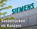Siemens-Logo am Gebäude