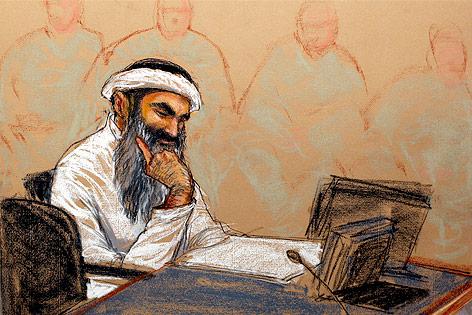 Zeichnugn von Chalid Scheich Mohammed