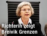 Richterin im Breivik-Prozess Wenche Arntzen