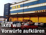 Archivaufnahme eines Ikea-Einrichtungshauses