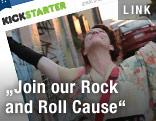 Amanda Palmer auf einem Screenshot von kickstarter.com