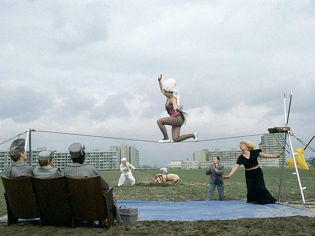 Ulrike Ottingers Zirkus in der Gropiusstadt, Bildnis einer Trinkerin, 1977