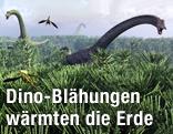 Diplodocus Dinosaurier (Sauropoden)