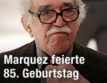 Der kolumbianische Schriftsteller Gabriel Garcia Marquez