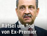 Ehemaliger libysche Ministerpräsident und Ölminister Shukri Ghanem