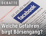 Börsenprospekt von Facebook