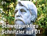 Bueste des Dichters Arthur Schnitzler