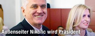 Tomislav Nikolic, Chef der oppositionellen Serbischen Fortschrittlichen Partei