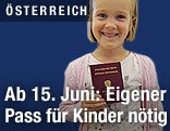 Kind mit Pass