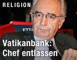 Ettore Gotti Tedeschi, Chef der Vatikanbank