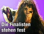 Bühnenshow von Loreen aus Schweden