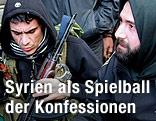 Bewaffnete sunnitische Kämpfer