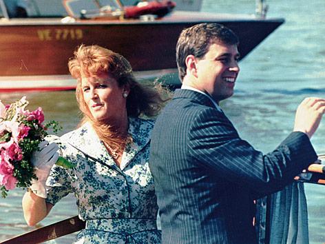 Prinze Andrew and Sarah Ferguson im Jahr 1989