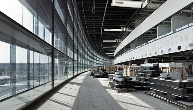 Skylink Baustelle, Flughafen Wien AG, Terminal am 25.06.2011