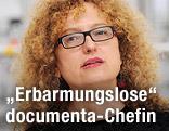 Carolyn Christov-Bakargiev, Leiterin der documenta 13