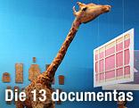 """Kunstwerk """"The Zoo Story"""" von Peter Friedl bei der documenta 12"""