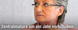 Unterrichtsministerin Claudia Schmied