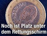 Spanische Euromünze