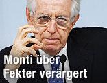 Italienischer Ministerpräsident Mario Monti
