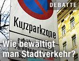Kurzparkzonen-Schild