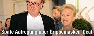 Ehemalige Gesundheitsministerin Maria Rauch-Kallat (ÖVP) und Lobbyist Alfons Mensdorff-Pouilly