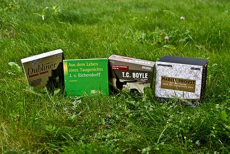 Bücher im Freien