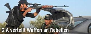 Kämpfer der Freien Syrischen Armee