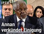 Syrien-Vermittler Kofi Annan