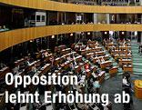 Plenarsaal im Parlament in Wien